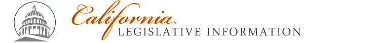 Legislative Information header image: click to go to the home page